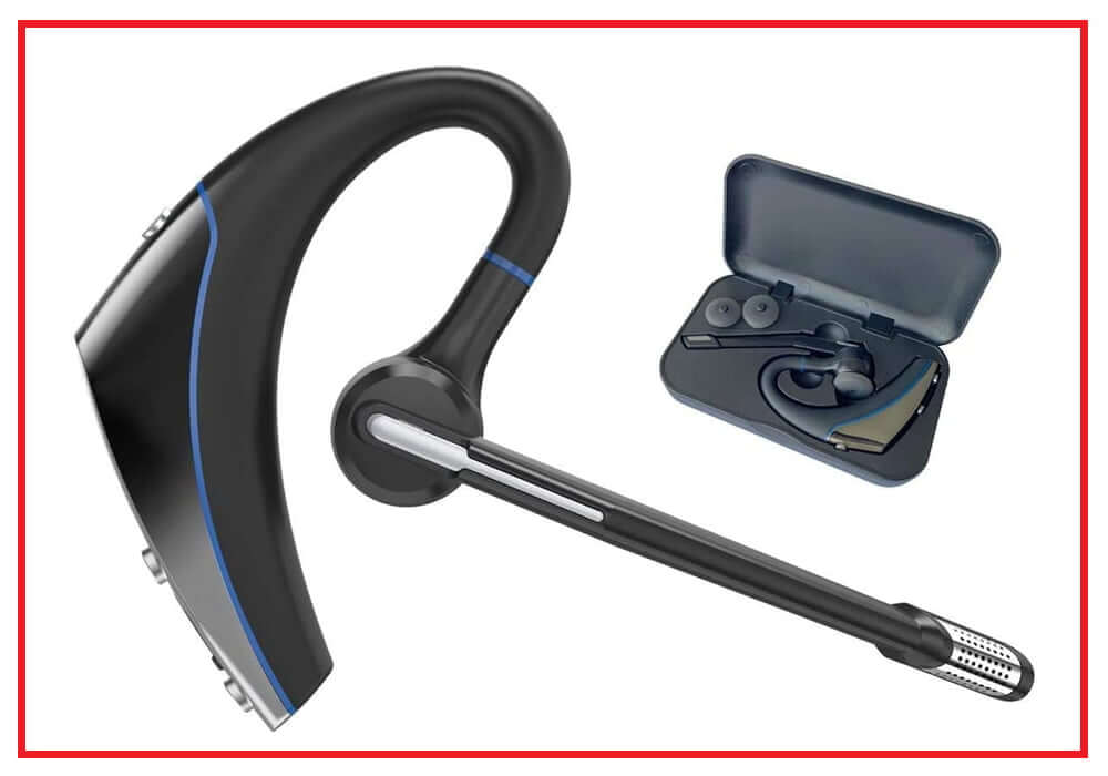 Hands-Free Earphones with Noise Cancellation Mic for Driver