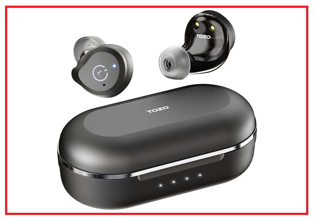 TOZO NC9 Hybrid Active Noise Cancelling Wireless Earbuds