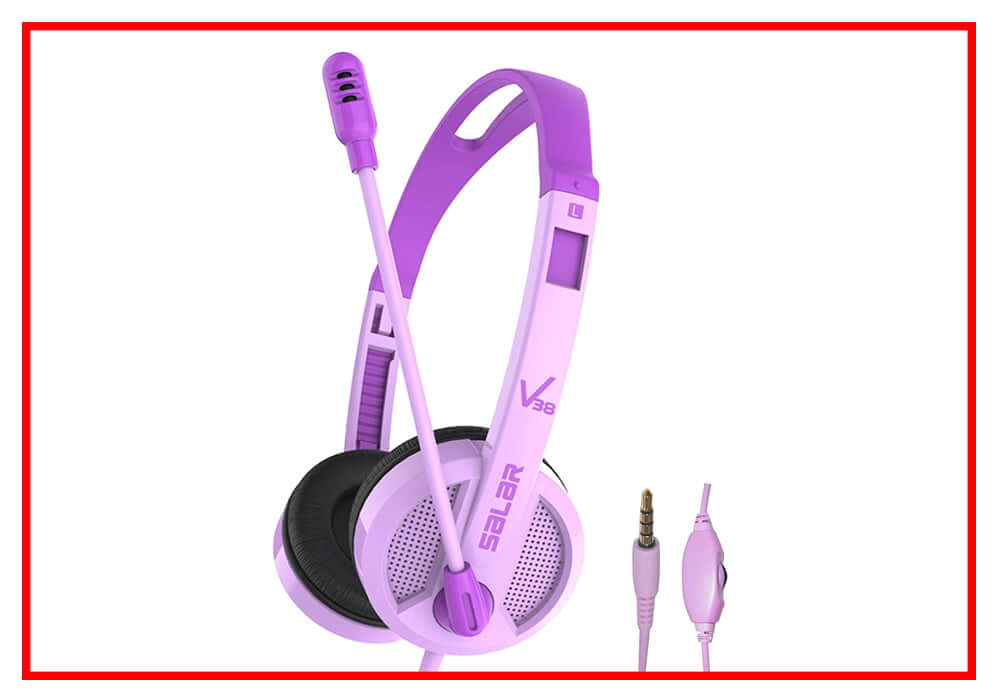 Kids Headphones Wired On Ear Headphone