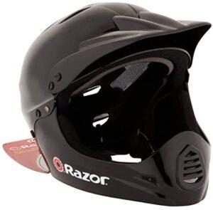 Razor 97775 Kid's Youth Full Face Padded Head Helmet for BMX Bike