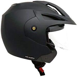 MMG Model 20 Motorcycle Open Face Helmet