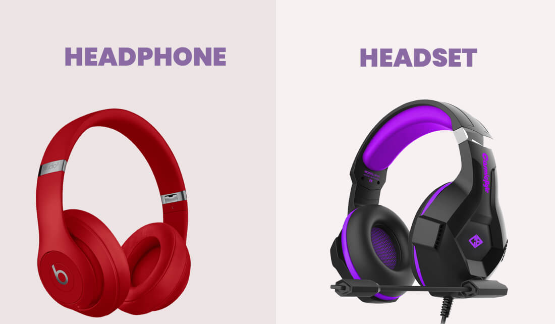 What is The Difference Between Headphones And Headsets
