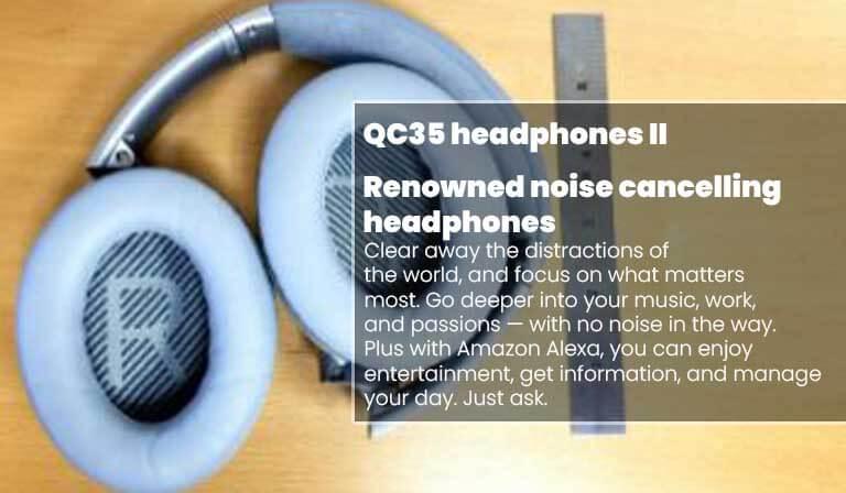 Best Headphones With Mic For Teletherapy | Bose QuietComfort 35 II