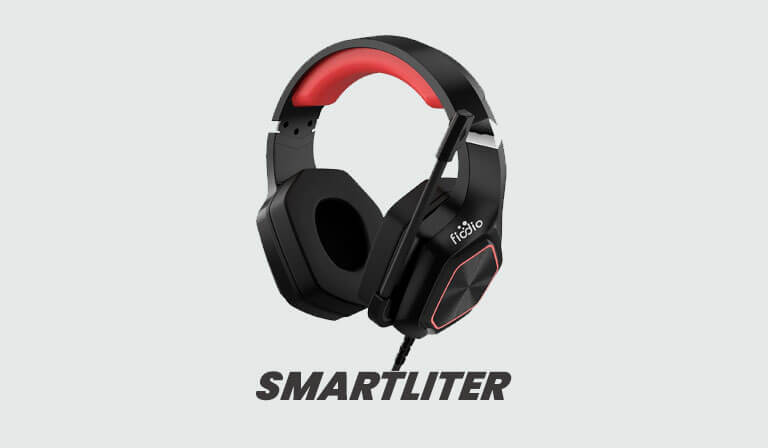 FIODIO Gaming Headset with LED FH-3115, Black