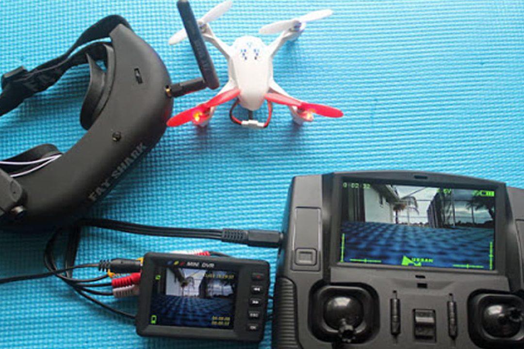 HUBSAN H107D X4 Drone11